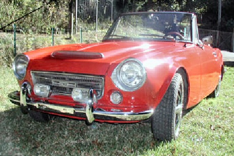 1968 Datsun 2000 Roadster Fairlady Convertible