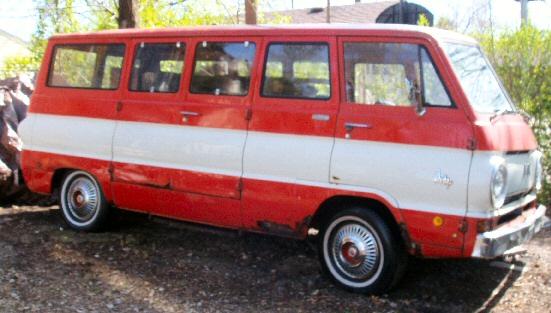 1968 Dodge Sportsman Van A100