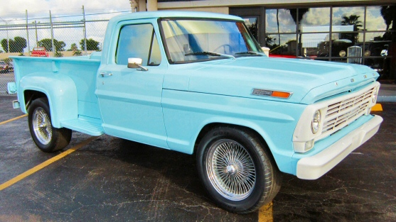 Photo of 1968 Ford F-100 Step side Pick Up