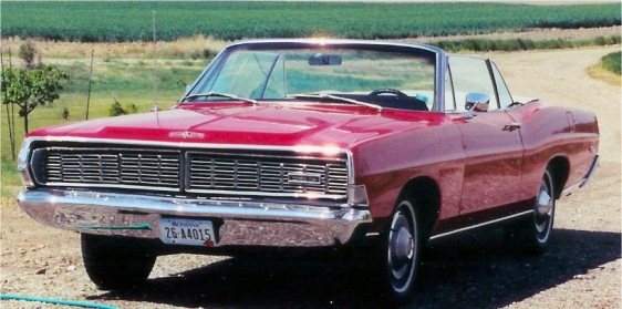 1968 Ford XL 2dr convertible