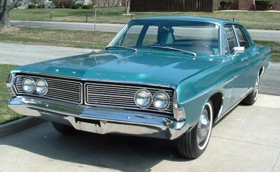 1968 Ford Galaxie 500 4DR Sedan