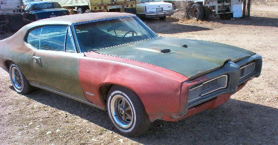 1968 Pontiac GTO 2DR HT Project
