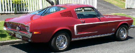 1968 Mustang GT390 Fastback