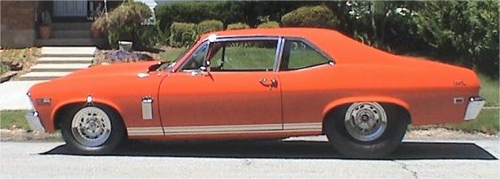 1968 Nova Ss Prostreet