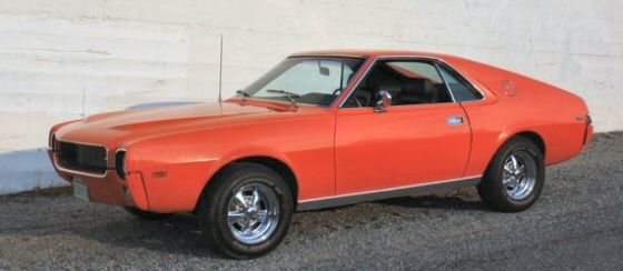 Photo of 1969 AMC AMX Coupe Go Pack Car Numbers Matching 1 of 238