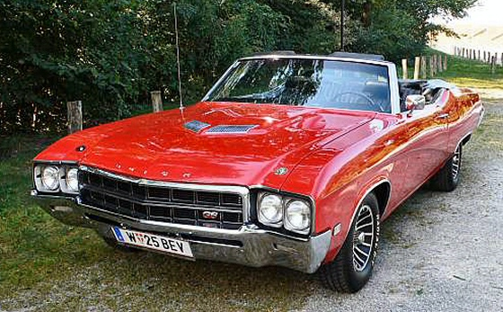 Photo of 1969 Buick GS 400 Stage 1 Convertible