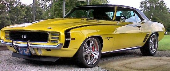 1969 Camaro Rs Protour