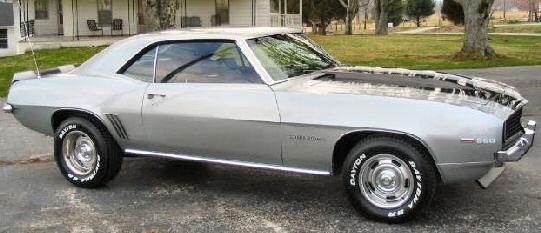 1969 Camaro Rs X11 Code 69