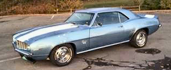 Photo of 1969 Chevrolet Camaro SS Coupe Restored