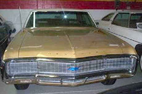 1969 Chevrolet Caprice 2 Door Hard top