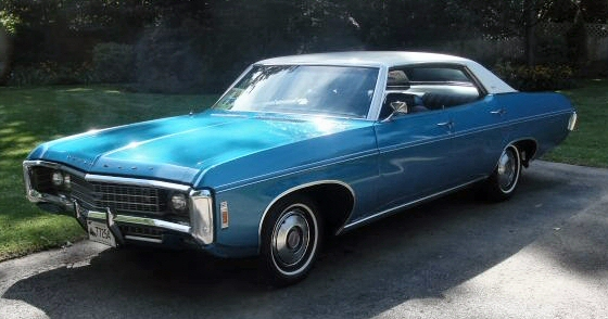 Picture of 1969 Chevy Caprice 4DR Hardtop
