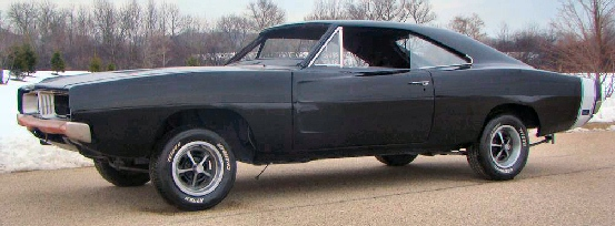 1969 Dodge Charger 4 Speed Project Car