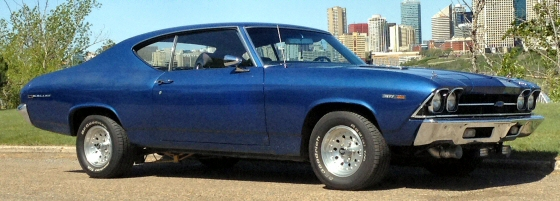 Photo of 1969 Chevelle Malibu 2DR Hardtop In Canada