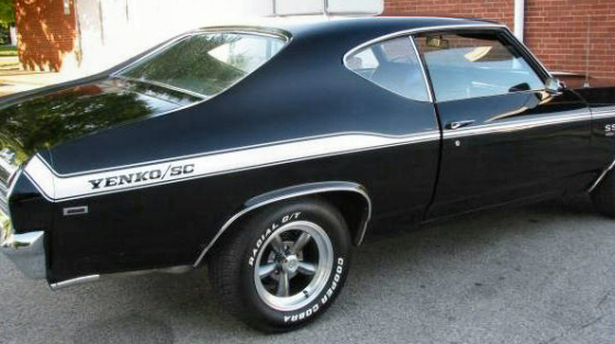 Photo of 1969 Chevelle SS 396 Coupe  With Yenko Graphics