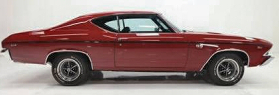 Photo of 1969 Chevy Chevelle SS 2DR Hardtop