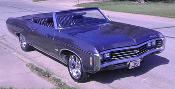 1969 chevrolet impala ss convertible. Black Bedroom Furniture Sets. Home Design Ideas