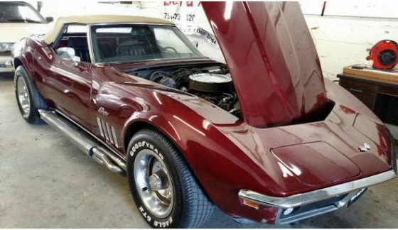 Photo of 1969 Corvette Stingray Convertible With Low Miles
