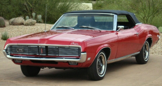 Photo Of 1969 Mercury Cougar Convertible