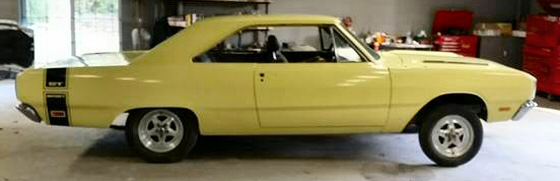 Photo of 1969 Dodge Dart 340 Swinger 2DR HT Numbers Matching Project