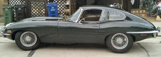 Etype Jaguar Coupe
