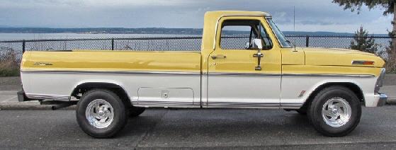 Ford F100 Ranger Pickup