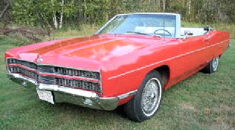 1969 Ford Galaxy XLT convertible