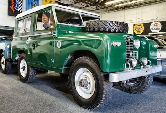 Photo of 1969 Land Rover Series 2 Restored