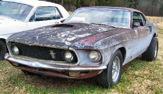 1969 Ford Mustang Fastback Project Car For Sale