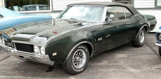 Photo of 1969 Oldsmobile 442 Convertible