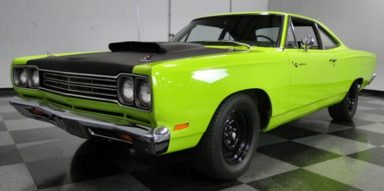 1969 Plymouth Road Runner 2DR HT