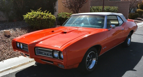Photo of  1969 Pontiac GTO Convertible Frame Off Restoration