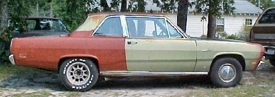 1969 Classic Plymouth Valiant 1969 Plymouth Valiant 2 Door