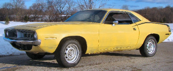 1970 Plymouth  Barracuda Project Car