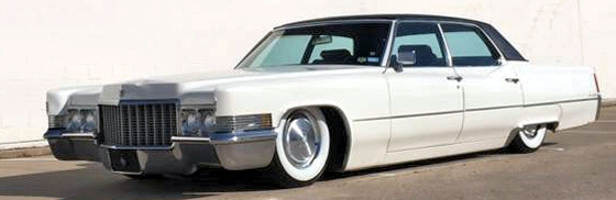 Photo of 1970 Cadillac Sedan Deville Fleetwood 4DR Hardtop Air Bagged