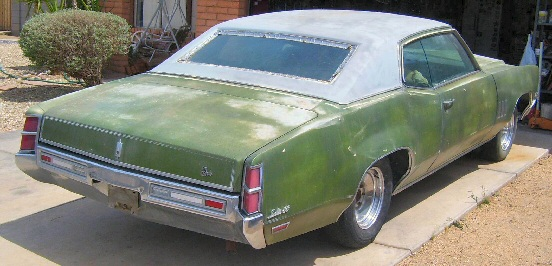 1970 Oldsmobile Delta88 455 2 Door