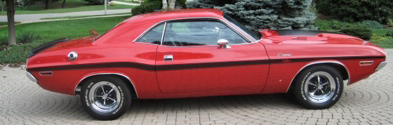 Photo of  1970 Dodge Challenger 440 Six Pac Slap Stick Automatic R/T Coup