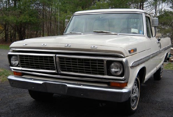 1970 Ford-100 Ranger XLT  Pickup
