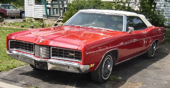 1970 Ford XL Convertible