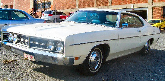 1970 Ford Galaxie 500 2 door hardtop