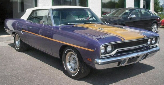 1970 Plymouth Hemi Roadrunner Convertible