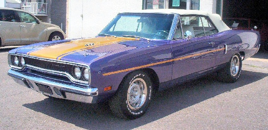 1970 Plymouth Roadrunner Hemi Convertible