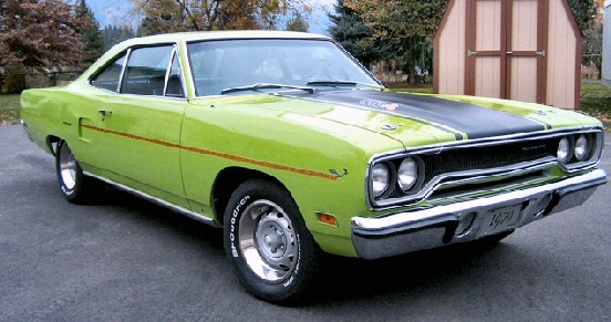 1970 PLYMOUTH ROAD RUNNER 440-6 Pack