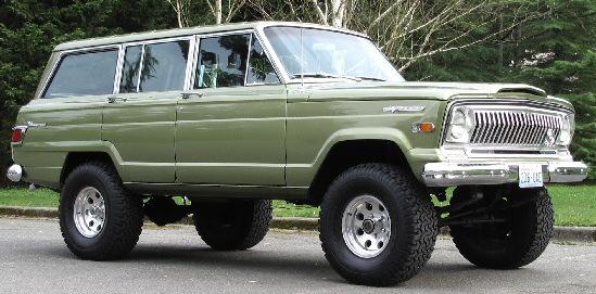 1970 Jeep Wagoneer Custom