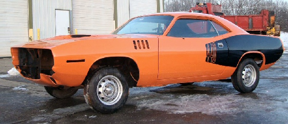 1971 Plymouth Barracuda Project Car