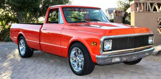 Photo of 1971 Chevy C20 Pickup Truck Completely Restored