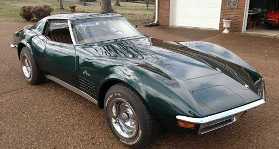 Photo of 1971 Chevrolet Corvette Stingray T Roof Coupe High End Restoration