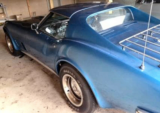 Photo of 1971 Corvette With T-Top