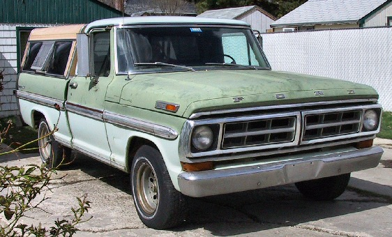 1971 FORD Ranger XLT Short Bed Pick Up Truck