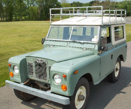 Photo of 1971 Land Rover Series IIA