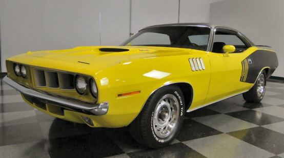 1971 Plymouth Cuda 440 Sixpack Re-creation